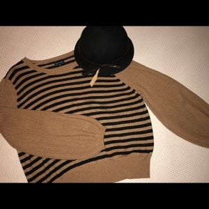 Who What Wear Cropped Fashion Sweater